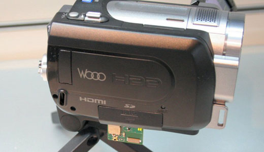 Hitachi HD Camcorder with Wireless Transmitter