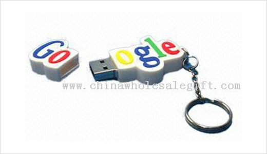 Made of PVC, this USB Flash Drive comes with Google logo. It's not sell by Google store but it comes from China. Compatible with Windows, Mac, and Linux, the drive measure .34 x 3.3 x 0.84cm at 28g. Read