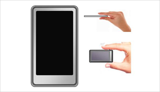 walkman touchscreen