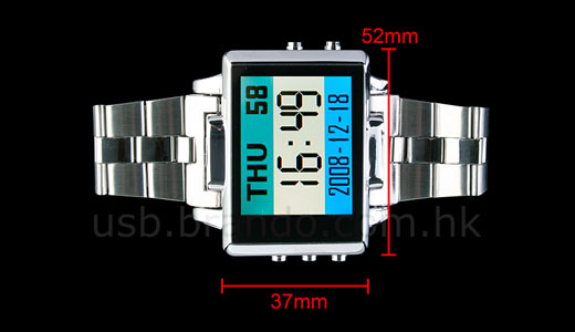 MP4 Watch + Video Camera