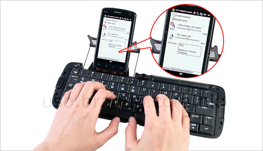 The MSI universal Bluetooth keyboard compatible with Palm Smart Phone and PDA OS version 5.0, Microsoft Smartphone 2003 OS, Pocket PC 2003 OS/Mobile phone edition 2003, and Symbian Smartphone User Interface series 60 and UIQ OS. Operating in 2.400GHz to 2.4835GHz frequency (79 channels) and up to 7 meters of […]