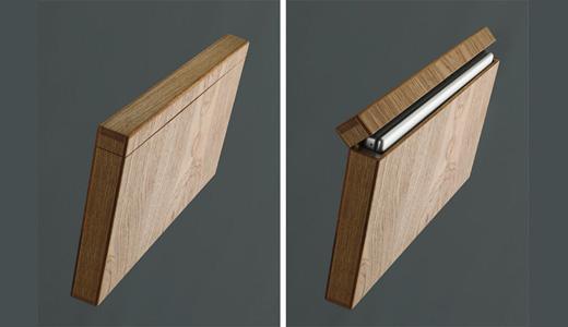Wooden Laptop Case for MacBook by Rainer Spehl | Trendy Gadget