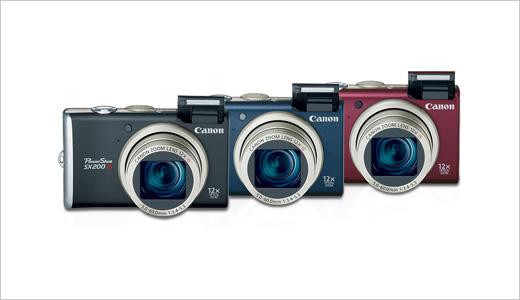 Canon PowerShot SX200 IS Digital Cameras