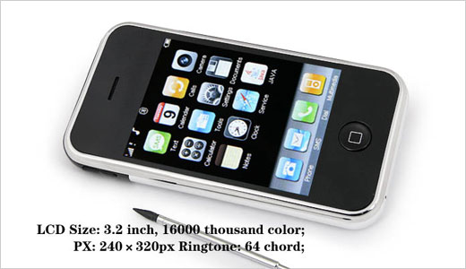 The iPhone clone i9 is a dual SIM phone that's powered by 2 CPUs working simultaneously. Featuring 3.2″ QVGA touch screen, the i9 also equipped with stylus, built-in camera, MicroSD card slot, and more. This phone is considered as cheap dual SIM phone with only $118 of pricing, but do […]