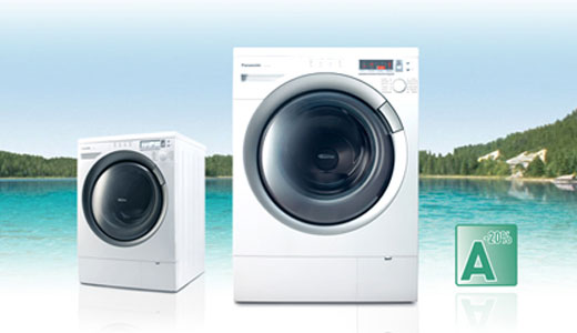 When laptop manufacturers start making cell phones, Panasonic start introducing its first washing machines in Europe. The new Panasonic washing machines will be available in premium (NA-16VX1), deluxe (NA-16VG1) and standard (NA-14VA1) model. Utilizing innovative inverter, tilted drum and 3D sensor technologies, the three models are able to realize a […]