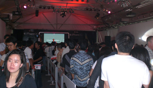 iphone launch in jakarta indonesia