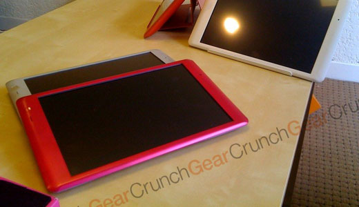 CrunchPad – TechCrunch Tablet – Michael Arrington Web Tablet