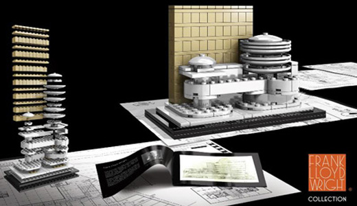 LEGO Architecture Sets: Frank Lloyd Wright Collection
