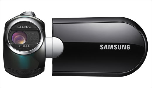 The Samsung SMX-C10 has been announced recently as a compact and ergonomic camcorder. Featuring Touch of Colorä (ToCä) finish, the SMX-C10 delivers Active Angle Lens, 10x optical zoom, Hyper Image Stabilization, and 2.7-inch wide LCD screen. But you won't find internal memory in it, it means it requires the use […]