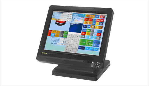 casio  BT-9100 PC/POS Point-Of-Sale Touch Screen Terminal