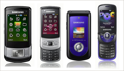 Samsung S6700, C5510, M2510 and M2310