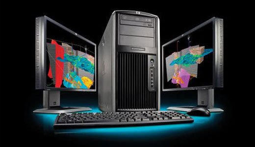 HP xw9400 is the first adopter of AMD's new six-core Opteron 2400 series, dubbed Istanbul. With pricing begin from $1,900 this professional workstation completed with an ATI FirePro V7750 GPU that make it ready to work as strong as your desire. Read