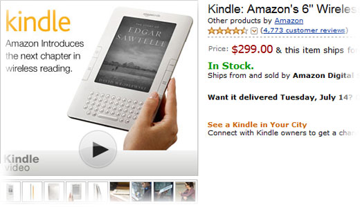 Old technology won't attract new customers unless there is something about it. And the most simple thing to make it stays attractive is a significant price cut. That's what Amazon did for its old 6″ reader aka Kindle 2. The new price of Kindle 2 now only $299, it means […]