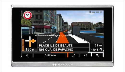 Ok, what does it have? It has 5-inch display, TMC receiver to get traffic information, and DVB-T receiver (optional) to tune TV programs of course. Priced at $636, this new GPS does feature voice command system for easy navigation while driving. Regarding casing, the Navigon 8410 GPS utilizing top-notch materials, […]