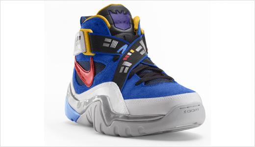"In collaboration with Hasbro, Nike unveils a limited edition Transformers basketball shoe collection. The collection inspired by the fictional robot characters Megatron, Soundwave, and Bumblebee which are translated into Nike Zoom Flight Club, Nike Sharkalaid and Nike Zoom FP (""FP"" for Fun Police) respectively. The shoes will be available beginning […]"