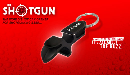 No Joke's Shotgun™ key chain is an all in one bottle opener and shotguner that also includes a tap popper for the ladies with long nails! A compact tool that is sure to impress the party crowd and increase the flow and laughter of a night out with friends. And […]