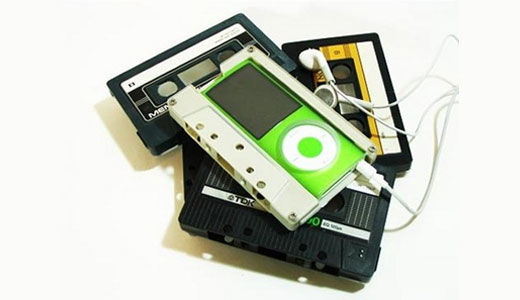 I think it's simply cool. As I don't have one, I have never checked that with simple hack, the cassette tape fit the 4th gen iPod nano. But now we all know that it simply works and looks wonderful. Don't tell me that you want to by a new iPod […]