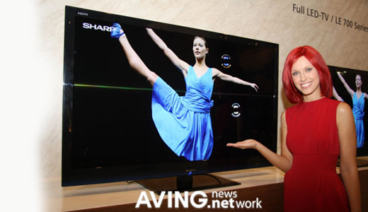 Presented at IFA2009, the Sharp LC-40LE600E LED TV comes with HDTV-tuner and supports full HD resolution. Specs: 16.9 X-Gen TFT LCD panel; HDTV, DVB-T and Analog tuner; full LED backlight; 2000000:1 dynamic contrast ratio; 6ms response times; and 3x HDMI ports, and 1x USB ports. Read