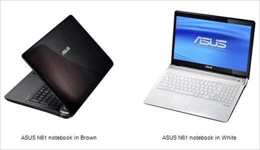 ASUS N61 Multimedia Notebooks