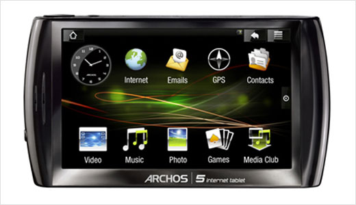 ARCHOS 5 Andorid-based Internet Tablet