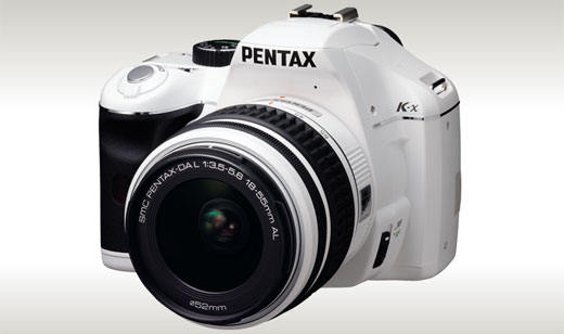 The PENTAX K-x provides advance features such as Live View, HD video and photographic performance that challenges higher-end models. The K-x available in a choice of white or black, as well as special, limited-edition red and navy. Highlights: 12.4 megapixel CMOS sensor with in-body Shake Reduction, Widescreen HD Movie Capture, […]
