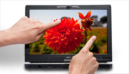 Pakced with a 13.3-inch widescreen display, the new Fujitsu LifeBook T5010 Tablet PC also equipped with built-in modular bay, integrated wireless access, and optional dual digitizer with multi-touch screen. With pricing range between $1759 and $2019, the T5010 powered by the latest Intel® Centrino® 2 with vPro™ Technology, 2 GB […]