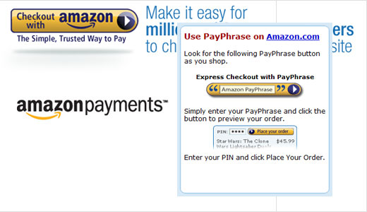 Amazon launched its payment system that allows its customers to shop across the web easily by simply entering a phrase and a PIN, the system called PayPhrase. Just like PayPal, users can both send and receive money from their PayPhrase account. I have signed up for an account, but as […]