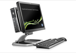 Expected to be available in the U.S. next month with procing starts at $849, the HP Compaq 8000f Elite Ultra Slim Desktop PC is mentioned as the industry's first Microsoft Windows(R) based desktop PC to be free of brominated flame retardants and polyvinyl chloride from the wall to the mouse. […]