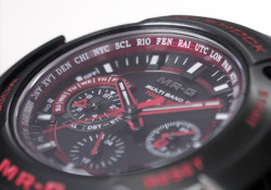 Kyocera Corporation today announced that the company's recrystallized ruby — also known as 'created ruby' — has been used in Casio's G-Shock Brand MR-G Series (ruby is used in the city code display design ring) for the first time in a decorative design application as watch parts. The limited-edition watch […]