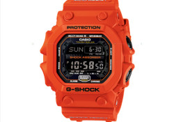 Coming with a newly developed impact-proof body, the new Casio G-Shock GXW-56 Series also feature Togh Solar and Multiband. Expected to be available in Japan starting next month (July), the GXW-56 watch will be offered in three model including Orange/Black, Black/Red, and Black/Gold. Which one do you want?