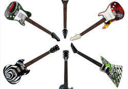 Paper Jamz guitars, drums and amplifiers hit its shelves nationwide this week. Produced by WowWee, Paper Jamz instruments are thin, battery-operated guitars and drum sets that feature Active Graphics™ Technology, meaning that music is played based on embedded touch sensors. There are six unique guitars and six corresponding drum sets […]
