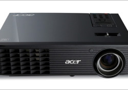 The Acer X1261 projector offering bright colors and crisp images, the Acer X1261 projector features advanced lamp technology with illumination of up to 2500 ANSI lumens, a high 3700:1 contrast ratio and a vertical refresh rate of 50-120Hz. Its native XGA resolution and 4:3 aspect ratio are ready for presentations, […]