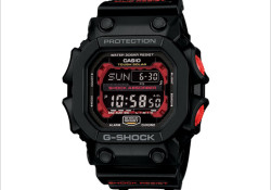 Crowned as the largest G-Shock ever made, the new GX56 measures 55.5mm x 53.6mm x 17.5mm. Highlights: Self-Charging, Tough Solar Power, Mud Resistance, Auto EL Backlight, World Time (31TZ/48 City + UTC), 4 Daily Alarms and 1 Snooze Alarm, Hourly Time Signal, 1/100th Sec. Stopwatch, Countdown Timer, 12/24 Hr. Formats, […]
