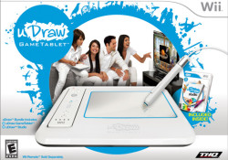 THQ announced uDraw GameTablet for Nintendo Wii that scheduled to hit U.S. retail store shelves just in time for the holiday season. The uDraw GameTablet will launch bundled with an expansive drawing, coloring and art-based video game, uDraw Studio, for a suggested retail price of $69.99. In addition to uDraw […]