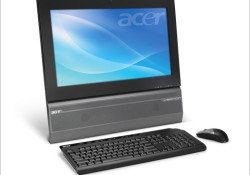 Acer Veriton Z410G all-in-one desktop boasting an HD 21.5-inch display with its 16:9 aspect ratio, 5ms response time and full HD 920×1080 resolution. Powered by Windows® 7 Professional, the new all-in-one is available with prices beginning at $719. Other highlights: Intel® Pentium® Processor E5700 (2MB cache, 3.0GHz, 800MHz FSB) with […]