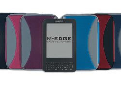 M-Edge Accessories is launching their most expansive suite of products to date. M-Edge now offers more than 20 jackets, sleeves, stands, and lights for the new Kindle. Those include Cambridge Jacket, Classic Jacket, New Yorker Jacket, GO! Jacket, Executive Jacket, Platform Jacket, Capital Jacket, Latitude Jacket with TheaterStand, and many […]