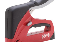 "Arrow Fastener introduced its new product line called R.E.D.™ includes the T50® heavy duty staple gun, arriving in stores in October 2010. The other products in the new R.E.D.™ line include the ET50 R.E.D.™ electric staple & 1"" nail gun, the HT50i R.E.D.™ hammer tacker and the EBN320 R.E.D.™ electric […]"
