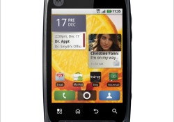 Verizon Wireless and Motorola unveiled the Android-powered Motorola CITRUS™. The CITRUS offers customizable smartphone experience in a compact design. Expected to be available in Q4 2010, the key features of CITRUS include: Curved design; on-screen QWERTY keyboard; Full HTML Web browser; BACKTRACK™, a touch panel located on the back of […]