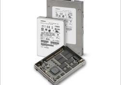 Hitachi announced its new Ultrastar™ solid state drive (SSD) family that comes in 100GB, 200GB and 400GB capacities. Featuring both 2.5-inch 6Gb/s Serial Attached SCSI (SAS) and 3.5-inch 4Gb/s Fibre Channel (FC) interfaces, the Ultrastar SSD400S has been shipped and is currently being qualified with select OEMs. Read