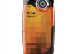 Kodak is introducing a special KODAK PLAYSPORT Video Camera, BURTON Edition. Featuring an orange pixilated design resembling the Burton Custom 154 Snowboard, the BURTON Edition of KODAK PLAYSPORT Video Camera will be bundled with gear including a custom Camera Holster that fits around the arm or leg to capture the […]