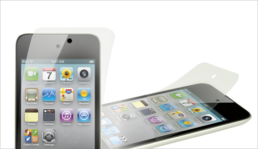 Power Support HD Anti-Glare Screen Films for iPod touch 4G