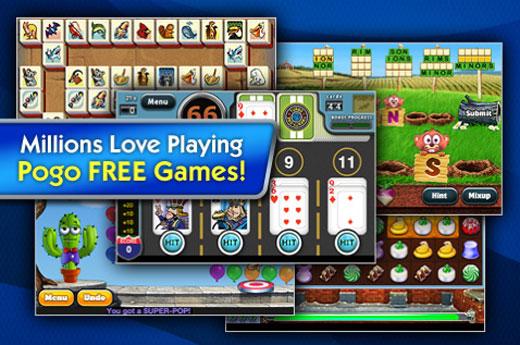 Pogo online games
