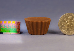 With 1 billion transistors in it, the new 2nd Generation Intel Core processor is aimed to deliver entirely new visual experiences for laptop PC users. But how the processor looks like in comparison to a dime and the new Reese's Minis, the smallest, unwrapped version of Reese's Peanut Butter Cups. […]