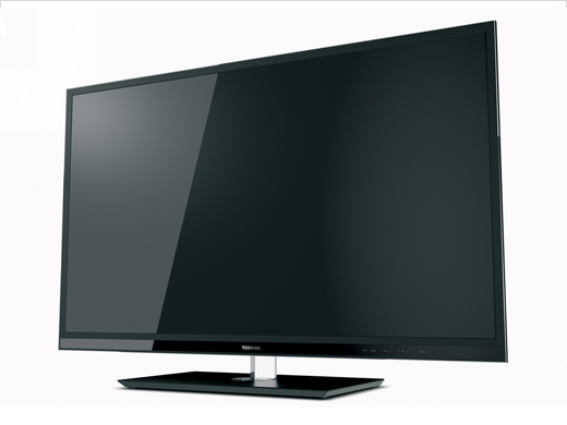 new Toshiba UL610 Cinema Series 3D LED HDTV
