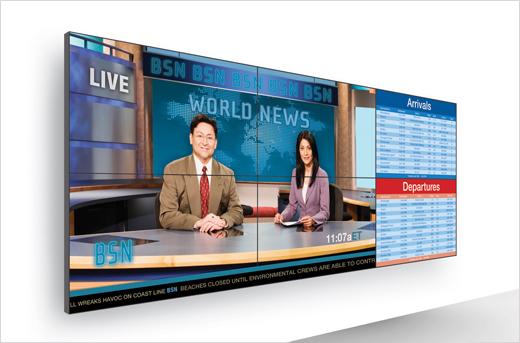 Planar Clarity Matrix 55 LCD Video Wall System