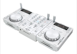 Pioneer introduced a new pearl white version of its entry-level DJ system comprising of two CDJ-350-W digital media players and a DJM-350-W 2-channel mixer. The new fashionable DJ gears also offer two additional audio effects – Noise and Short Echo. The CDJ-350-W will allow users to create DJ performances with […]