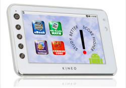 Brainchild launched Kineo Tablet at FETC 2011 (Florida Educational Technology Conference) in Orlando. Mentioned as the first Android™ tablet eBook reader created exclusively for education, Kineo comes with built-in features that keep schools and students safe. It can only access websites that are pre-programmed by the administrator or teacher. In […]