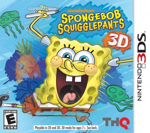 SpongeBob SquigglePants for Nintendo 3DS