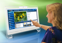 "The Telikin computer is the new ""Easy to Use"" personal AIO Touch computer with built in software for all popular functions targeted at home users and senior users. Unveiled at the 2011 CES in Las Vegas, the Telikin now accessible to D&H's entire network of IT resellers, consumer electronics dealers […]"