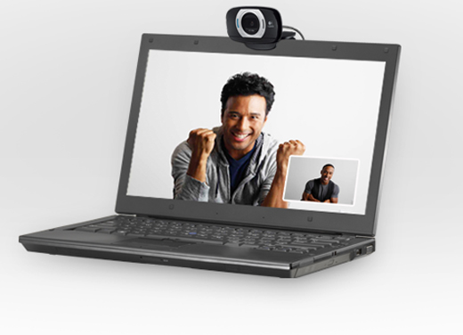 Logitech HD Webcam C615 for PC and Mac